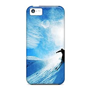 linJUN FENGFaddish Phone Skiing Over Snow Cases For iphone 5/5s / Perfect Cases Covers