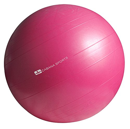 Cabana Sports South Beach Exercise Ball (Pink)
