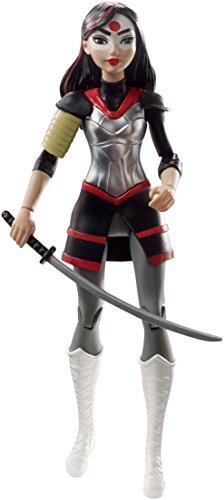 DC Super Hero Girls DVG28 - Katana - Figurine Articulée - 15 cm
