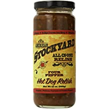 American Stockyard Four Pepper Hot Dog Relish, 12 Ounce
