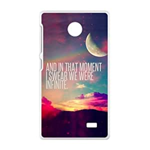 And In That Moment Bestselling Hot Seller High Quality Case Cove For Nokia Lumia X