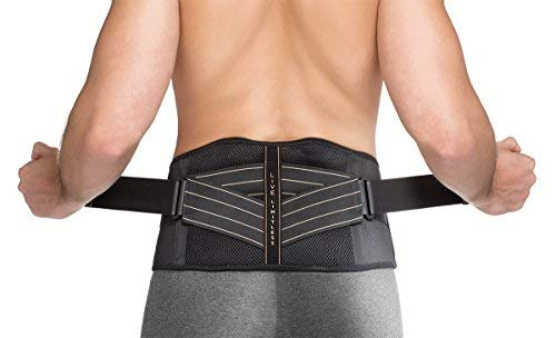 Copper Fit Rapid Relief Back Support Brace with Hot/Cold Therapy