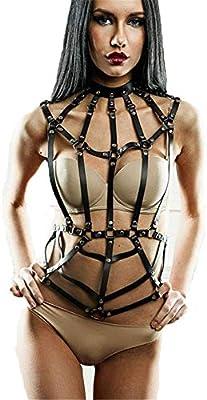 Body Arnés del pecho Hebilla Cinturones Bondage de las mujeres de ...