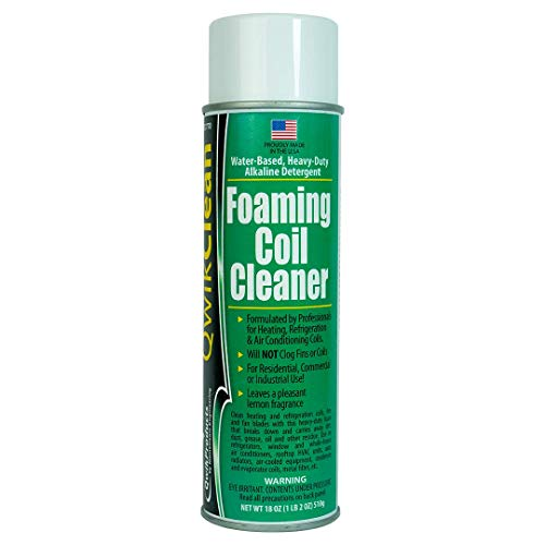 (QwikClean® Foaming Coil Cleaner)