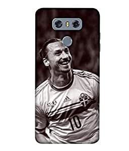 ColorKing Football Ibrahimovic Sweden 03 Multicolor shell case cover for LG G6