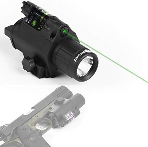 Tactical 5000Lumen Pistol Rifle Weaver//Picatinny Rail Compact LED Flashlight CR2