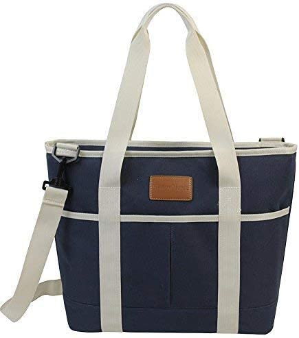 Jumbo Tote Lunch Cooler Bag Picnic Beach Handbag Ice Outdoor Thermal Insulated