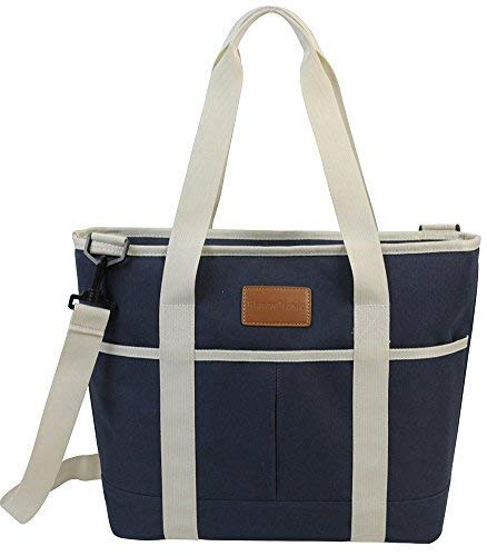 Fantastic Deal! 16L Large Insulated Bag | 25CAN Waterproof Cooler Carrier Bag| Thermal Picnic Tote |...