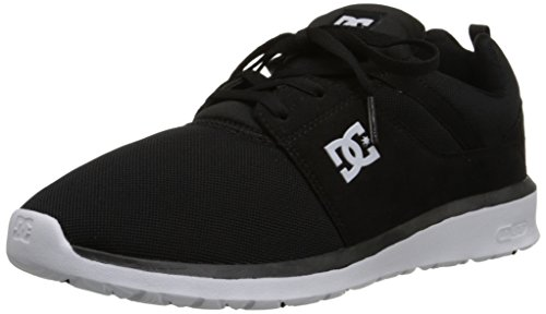 DC Heathrow Skate Shoe, Black/White, 11 M US