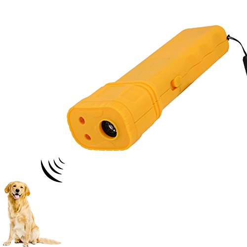 3 in 1 Anti Barking Stop-Barking Ultrasonic Dog Repeller Outdoor Bark Controller No Harm to Dogs (Upgrade A2)