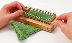"Authentic Knitting 9""x3"" Sock Loom Knitting Board Wdvd-"