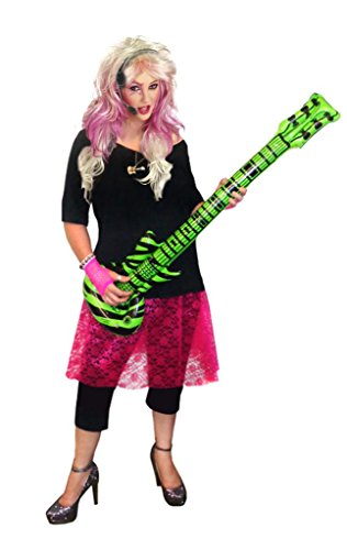 Sanctuarie Designs Womens Rocker Chick /Deluxe/ Plus Size Supersize Halloween Kit/ Deluxe/1x/./ (Jem And The Holograms Halloween Costume)