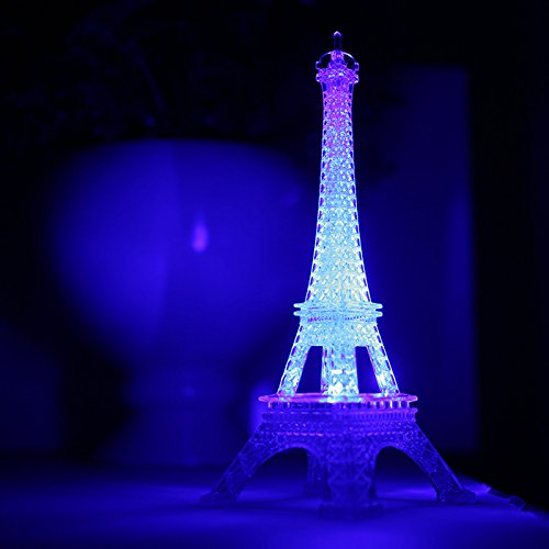 Lighting Stores In Paris: Eiffel Tower Statue Light Up