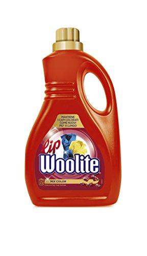 Lip Woolite Feinwaschmittel flüssig für Tiere für und Feinwäsche Hand und in Waschmaschine, 1500ml