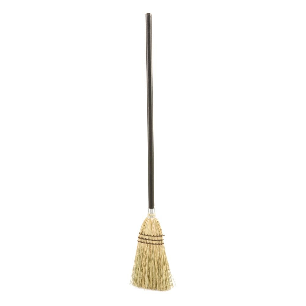 Rubbermaid Commercial FG637300BRN Corn-Fill Lobby Broom, Black by Rubbermaid Commercial Products