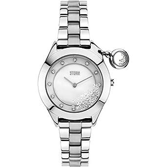 Storm Damenarmbanduhr Edelstahl 47222-S Sparkelli Silver