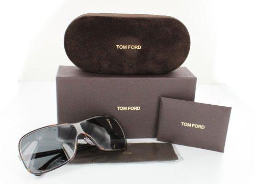 5a863fa4af Amazon.com  TOM FORD ALEXEI TF116 COLOR 15A HAVANA BROWN SUNGLASSES   Clothing