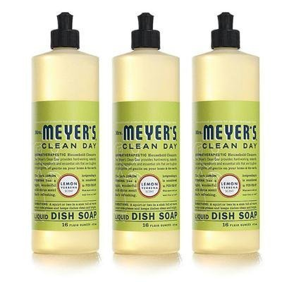 Mrs. Meyer's Clean Day Liquid Dish Soap (48 Pack)