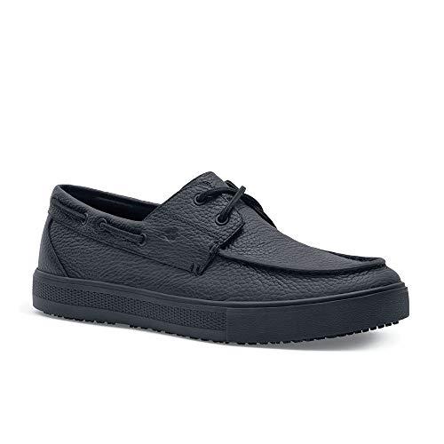 Shoes for Crews Mens Edmund Casual-Oxford/Loafer Slip Resistant Work Shoe Black