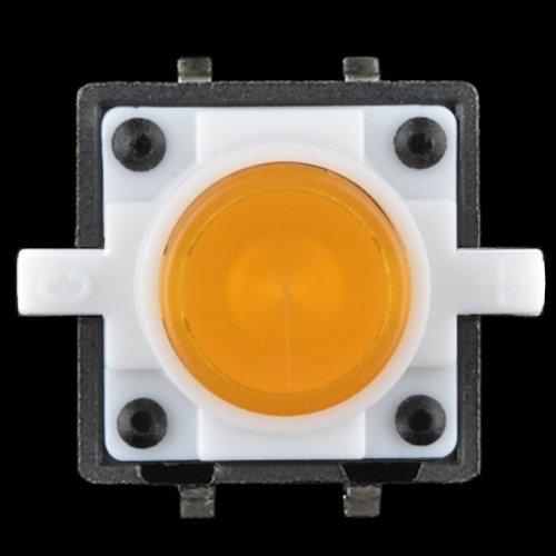 LED Tactile Button Orange