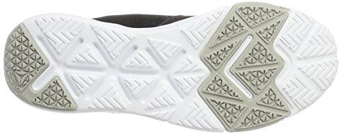 Reebok Flexile, Zapatillas de Gimnasia para Mujer Negro (Black / Skull Grey / White)