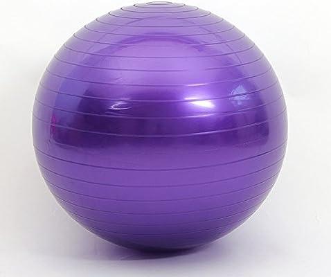 ISE Balón de gimnasia anti-pinchazos, balón de ejercicio (55 cm ...