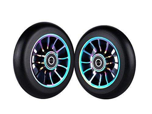 Best 100mm scooter wheels black to buy in 2019