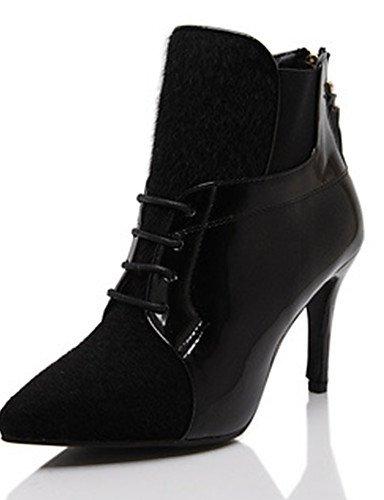 Sexy De Black Avec Nuit 5 Mariée Eu36 Boîte Cn35 5 Ultra Nouveau Mariage Uk3 Étanche le us5 Xzz Fine Chaussures haute ES8zq