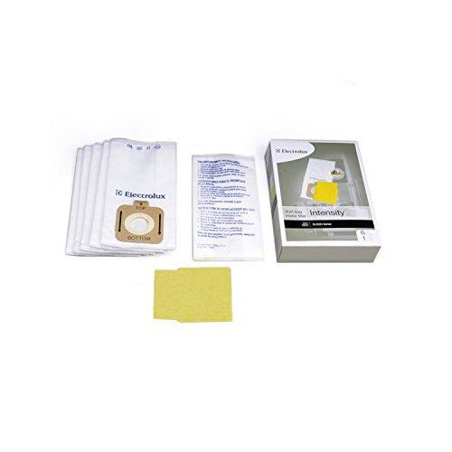(Electrolux Genuine Intensity Vacuum Cleaner 6 Bags & 1 Pre Motor Filter for EL5020 EL206 EL5020A EL016)