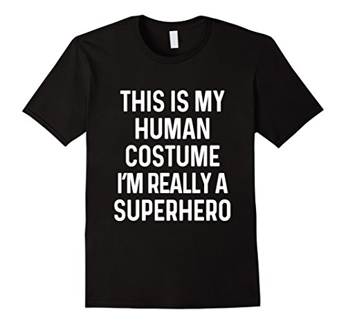 Super Funny Halloween Costume Ideas - Mens Funny Superhero Costume Shirt Halloween Kids Adult Men Women Small Black