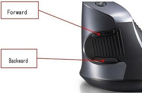 Ratón Vertical inalámbrico YBK - Tech tu muñeca en posición Vertical con diseño de mi: Amazon.es: Informática