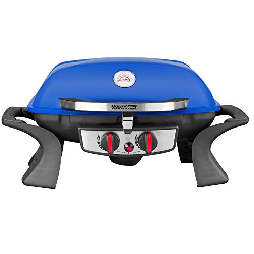 Royal Gourmet Blue 2-burner Portable Tabletop Propane Gas Grill (Grill, Blue) Royal Gourmet Corp