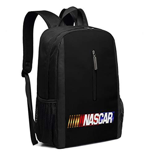 - Backpack, Travel Hiking NASCAR Logo Backpacks Waterproof Big Student College High School Laptop Shoulder Bag Outdoor Backpacks For Men Women Adults