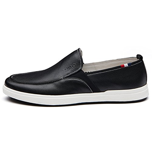 ZRO Mens Popular Casual Loafer Branded Shoes Fashion slip on Black Ai5TEHu