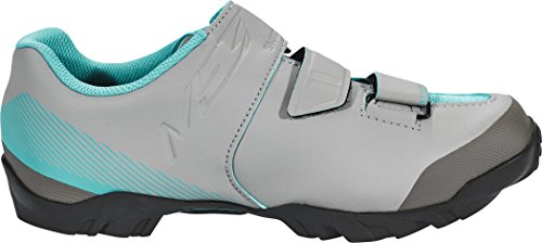 Shimano shme3pg410wg00 – Chaussures cyclisme, 41, Gris – Vert, Femme