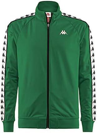 Kappa Banda Anniston Track Jacket   Green/White