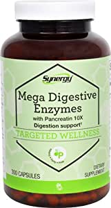 Vitacost Mega Digestive Enzymes with Pancreatin 10X -- 300 Capsules