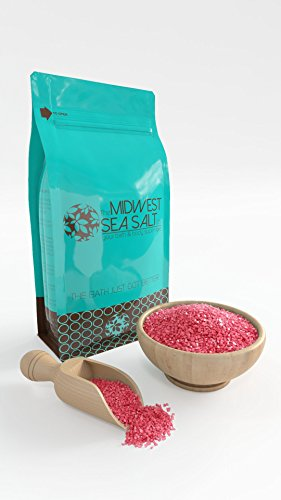 Peppermint Mediterranean Sea Bath Salt Soak - 5lb (Bulk) - Coarse Grain (Peppermint Bath Salts compare prices)