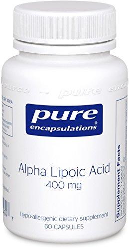 Pure Encapsulations - Alpha Lipoic Acid 400 mg - Hypoallerge