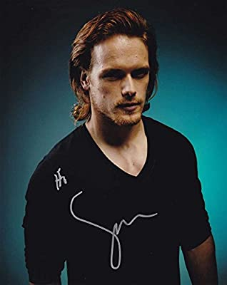 Sam Heughan In-person Autographed Photo Outlander
