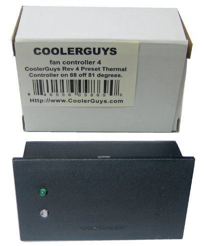 - Coolerguys Thermal Fan Controller (Rev. 4)