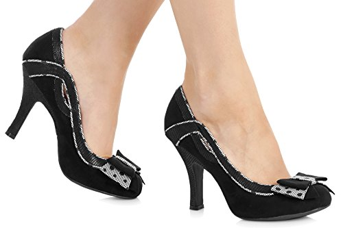Heels Shoo Shoes Ivy Womens Ruby Hi Black YXdYwq