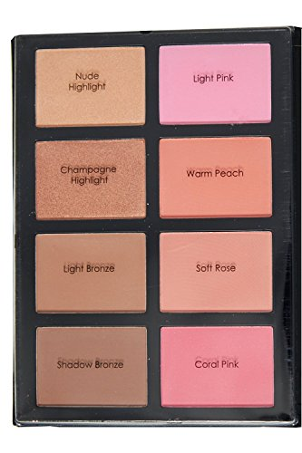 Profusion Blush & Bronzer Kit - Blush & Bronzer Palette for Flawless Contouring and Highlighting (Blush Kit)