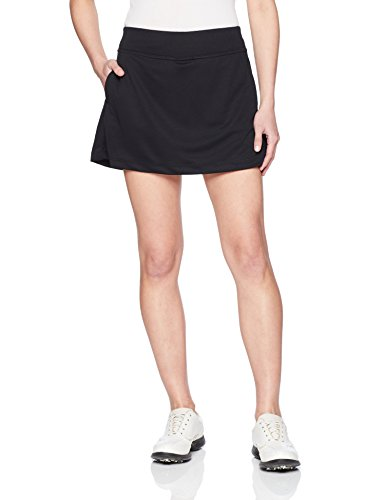 PGA TOUR Women's Petite Plus 16' Airflux Solid Knit Skort Tummy Control