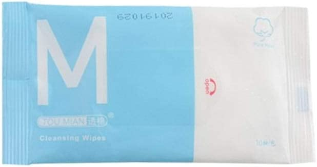 Emily 10-Pack Wipes Carrying Case Clean Antibacterial Wipes