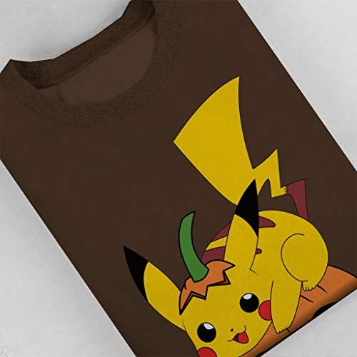 Cloud Cloud Cloud Pikachu Chocolate Women's City 7 Sweatshirt Pokemon Halloween Ax1nOArP8q