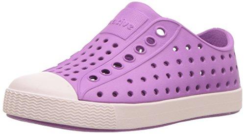 native Kids Jefferson Water Proof Shoes, Peace Purple/Milk Pink, 12 Medium US Little (Peace Girl)