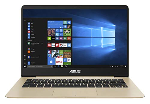 ASUS ZenBook UX430UA-GV573T Intel Core i5 8th Gen 14″ (35.56cms) FHD Thin and Light Laptop (8GB RAM/256GB SSD/Windows 10/Integrated Graphics/1.30 kg), Gold