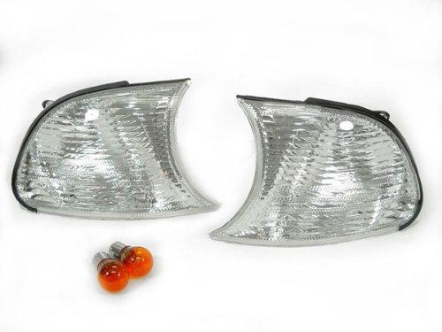 A Pair of Depo Toric Clear Lense Corner Signal Light - BMW 3-Series E46 M3 2DR (Clip-On Type Corner) 2001