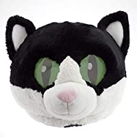 Maskimals Oversized Plush Halloween Mask (Cat)